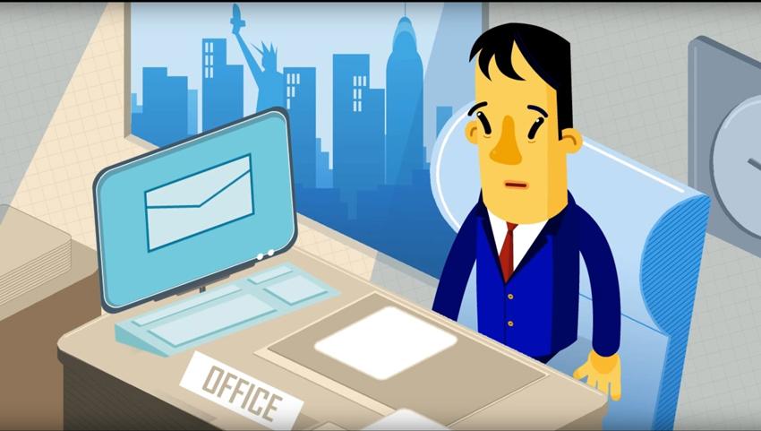 איור משרד